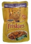 Консервы Nestle Friskies со вкусом утки,печени и моркови 100г